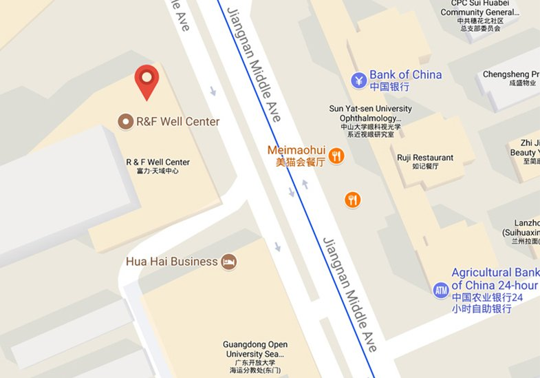 IMS Guangzhou Office Map