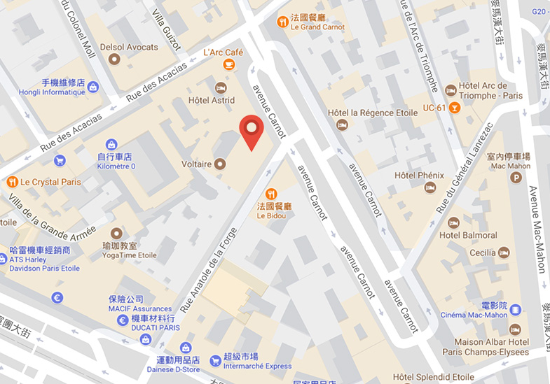 IMS Paris Office Map