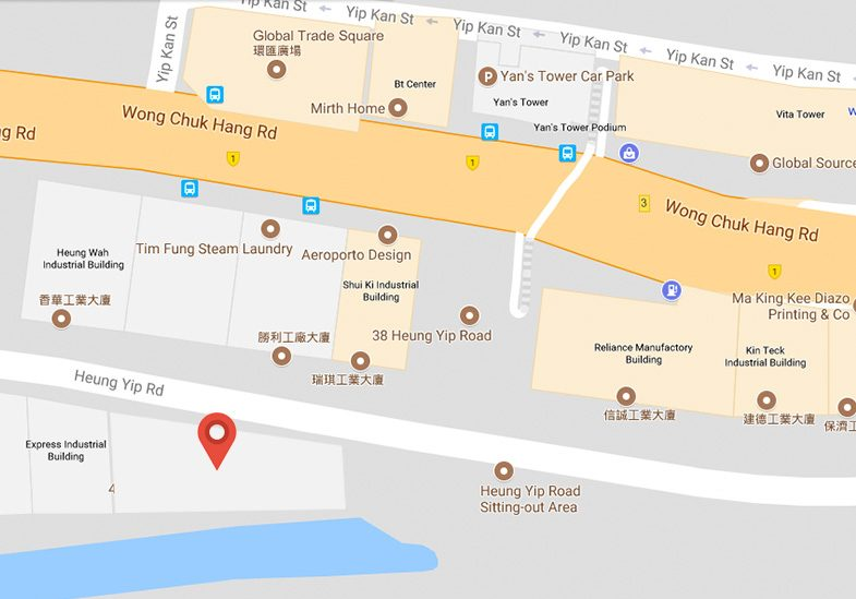 IMS Hong Kong office location map